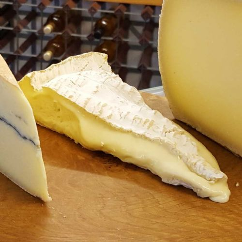 Brie de Meaux Cheese, Strong, smelly French Brie